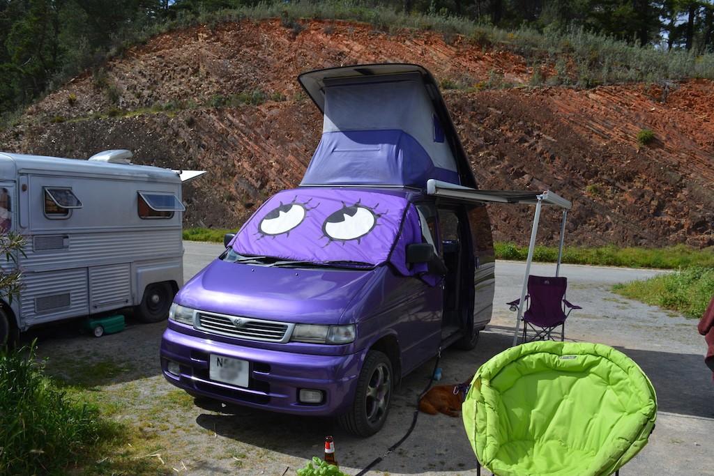 Purple Van!