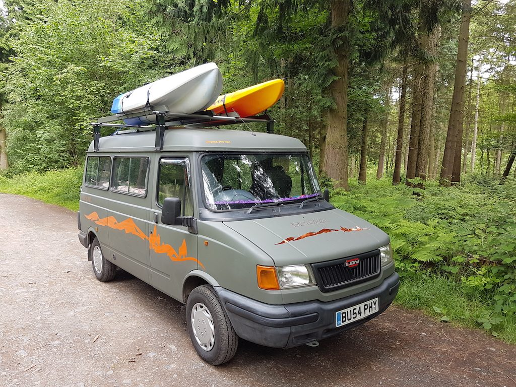 LDV Pilot Hippy Travel Van – Beyond The Van