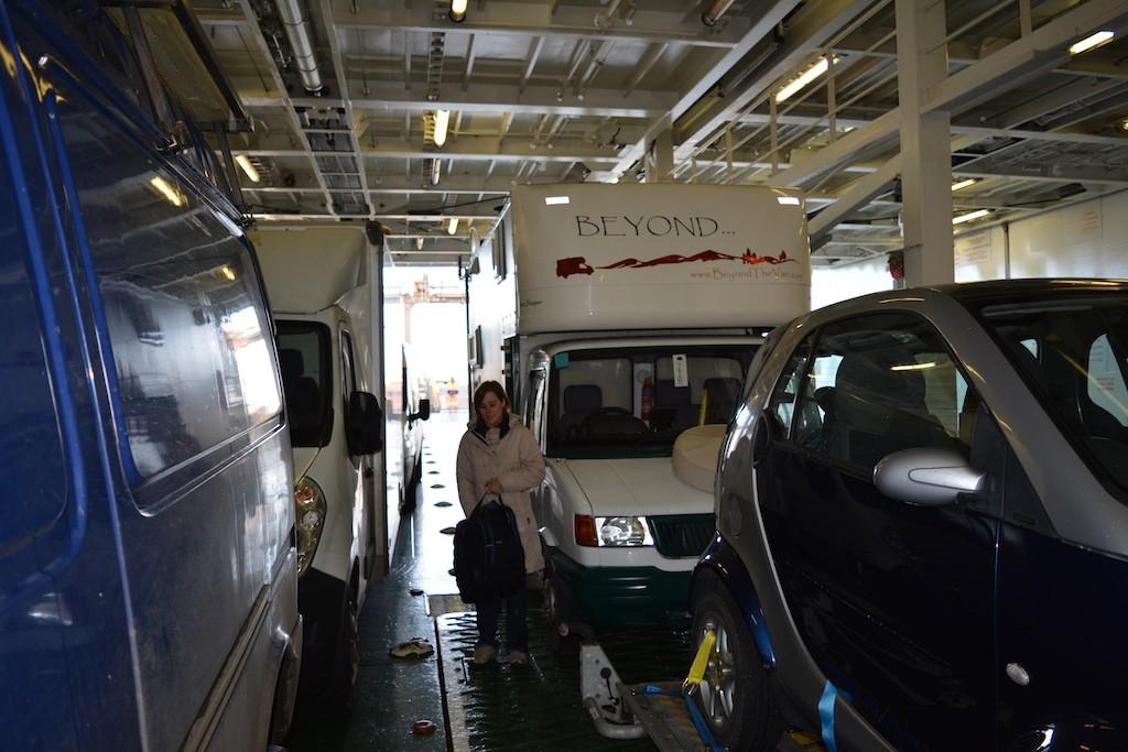 Barfleur Ferry Boarding