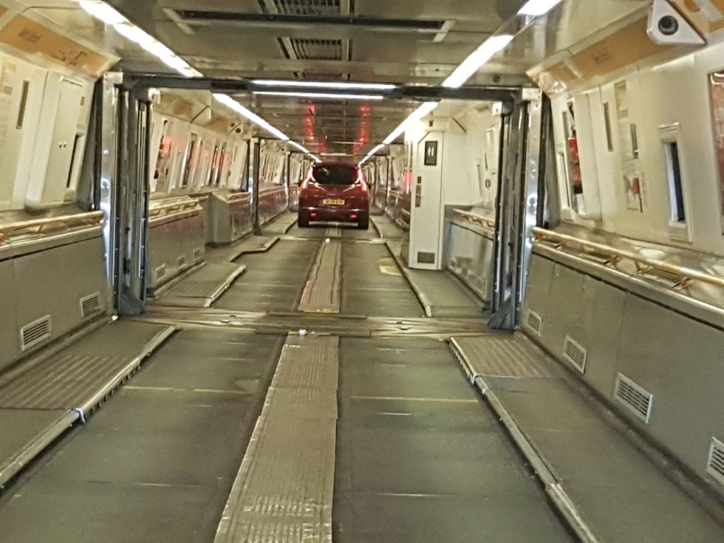 Inside Leshuttle