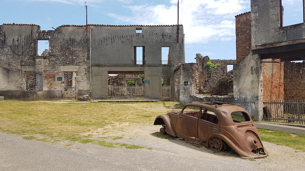 My visit to Oradour-sur-Glane…
