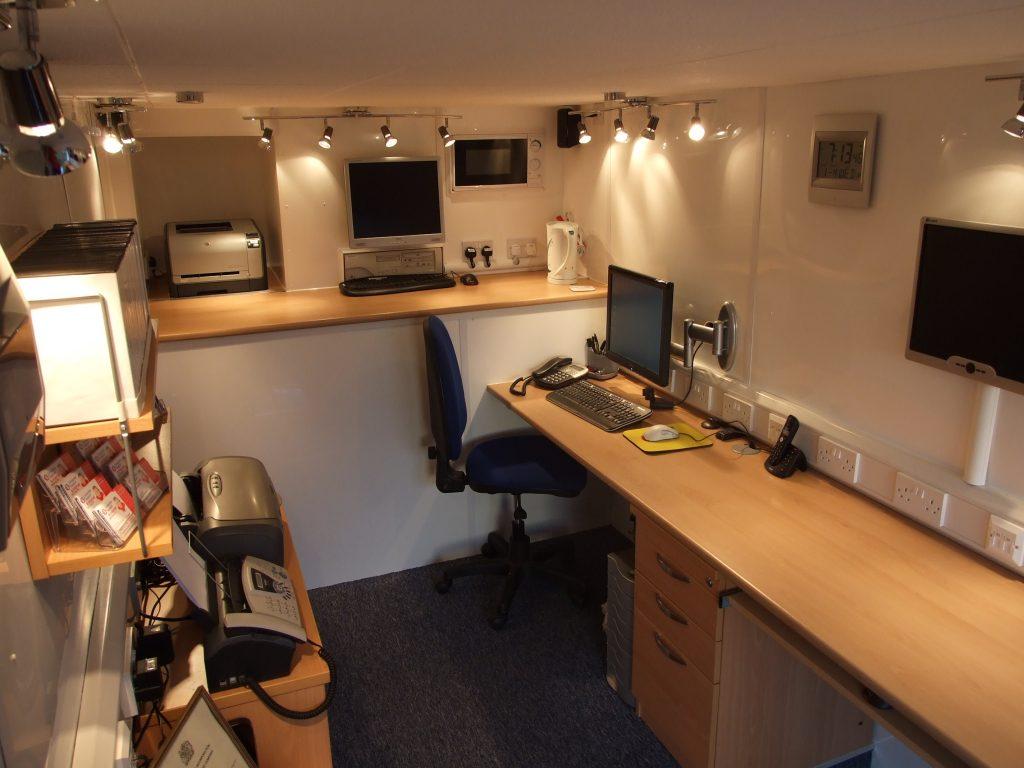 Luton Office Van